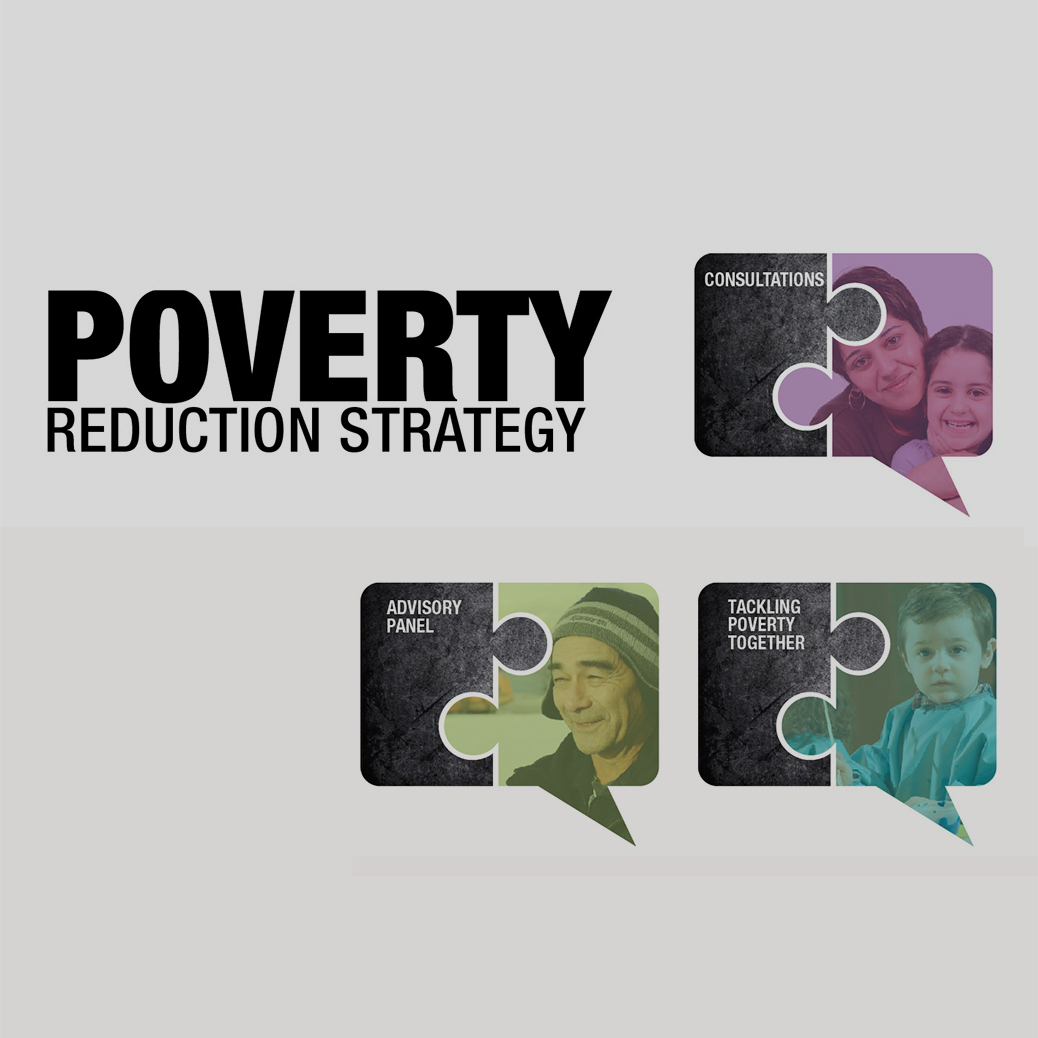 strategies to reduce poverty Poverty reduction strategy papers (prsps) are documents required by the  international monetary fund (imf) and world bank before a country can be.
